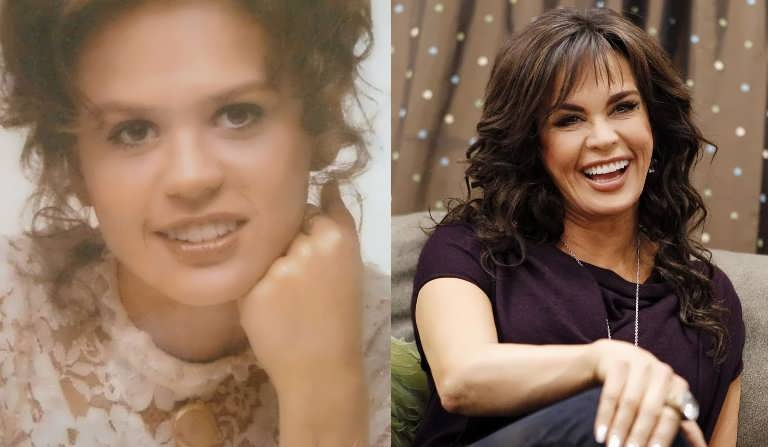 Marie Osmond's nose looks very different than before