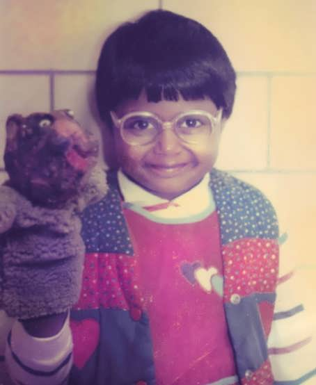 Young Mindy Kaling