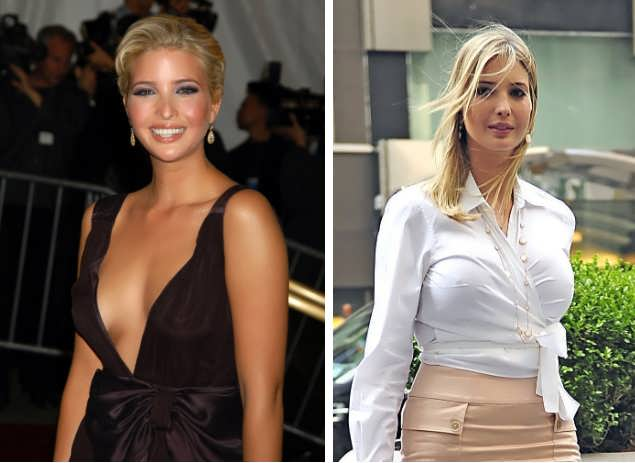 Did Ivanka Trump Have Boob Job