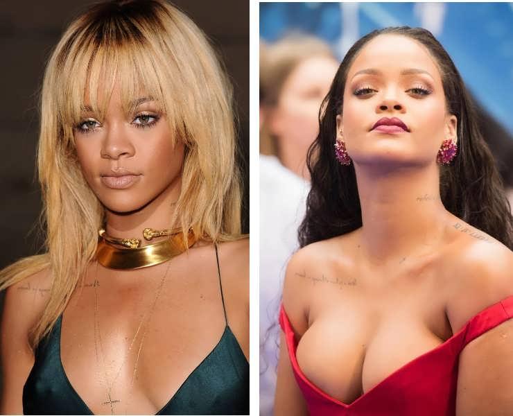 Did Rihanna get a boob job