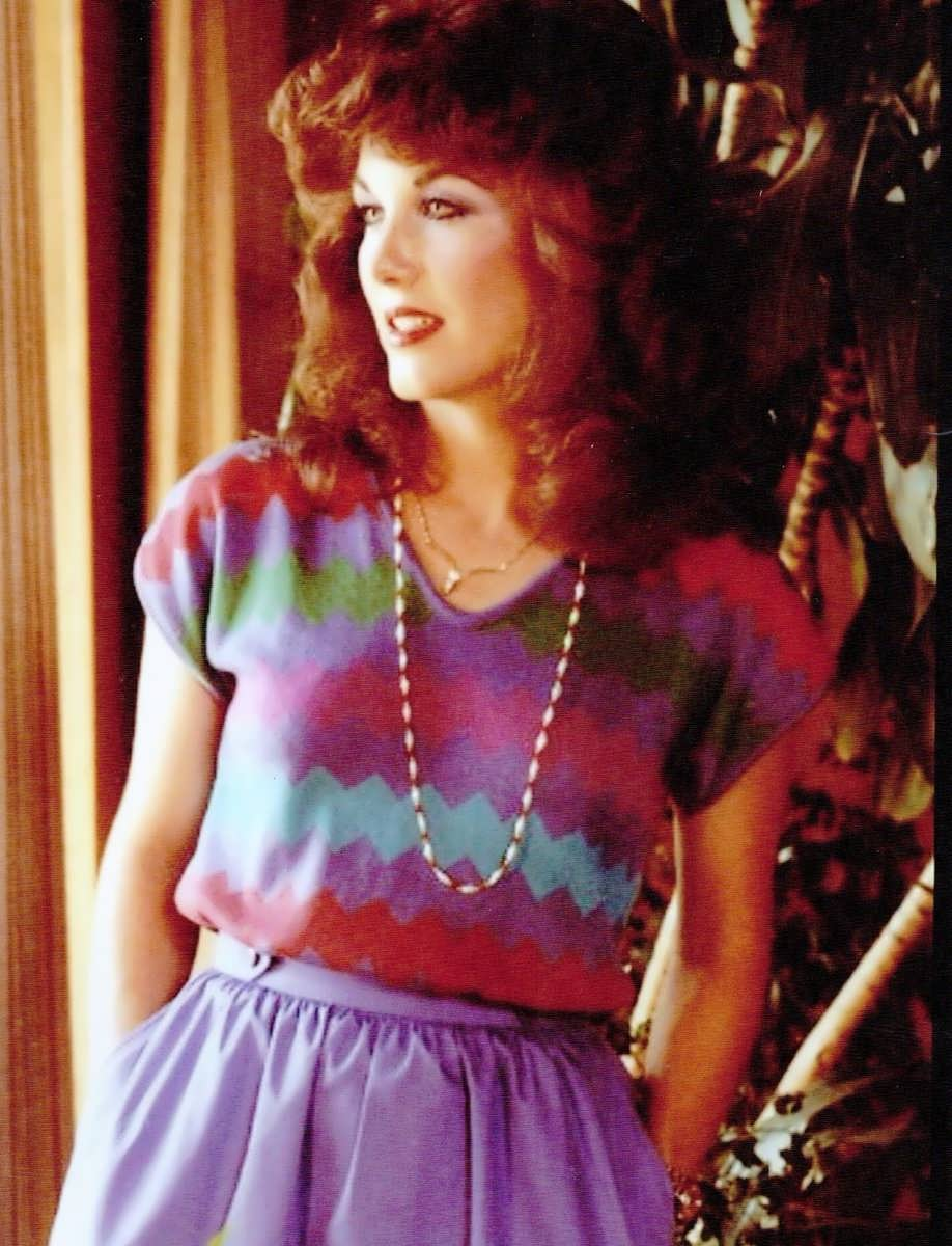 Robin Mcgraw in her early adulthood