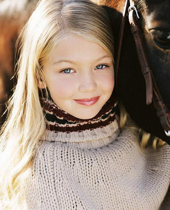 Gigi Hadid 2004