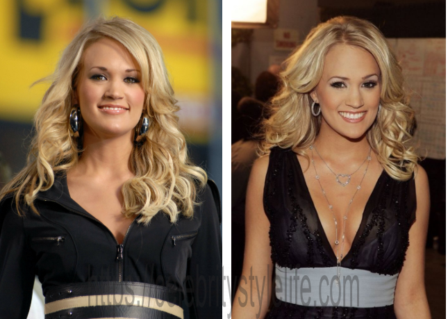 Carrie Underwood boob job before and after?