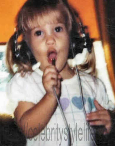 Carrie Underwood during childhood