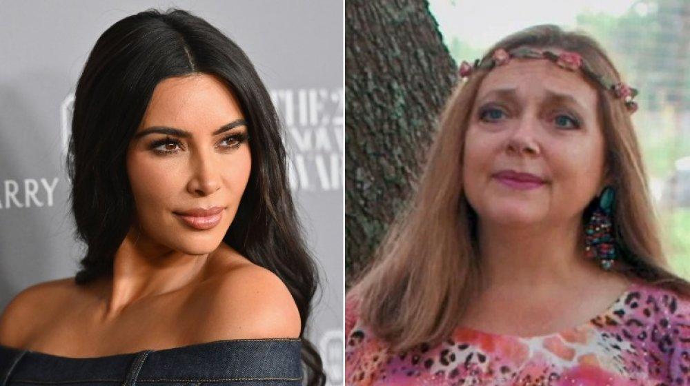 Kim Kardashian, Carole Baskin