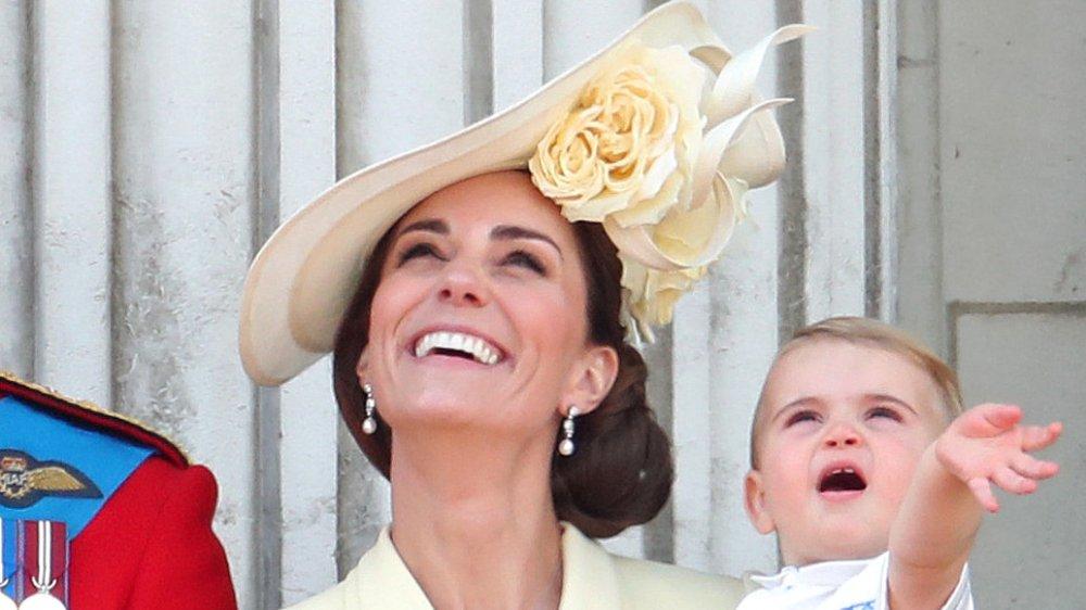 Kate Middleton y el Príncipe Louis