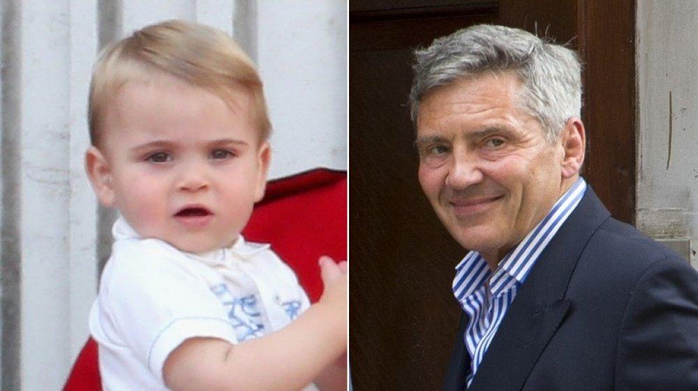 Príncipe Louis y Michael Middleton
