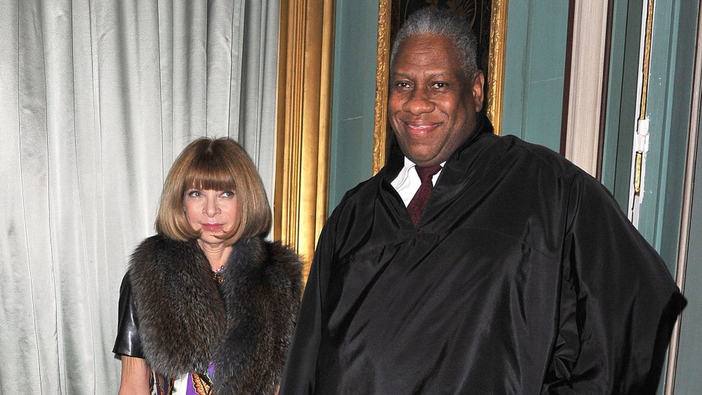 Anna Wintour y Andre Leon Talley