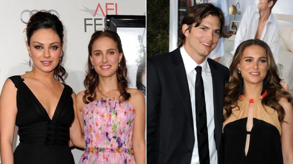 Mila Kunis, Natalie Portman, Ashton Kutcher, Natalie Portman