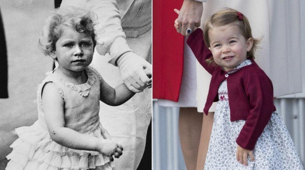 Reina Elizabeth, Princesa Charlotte