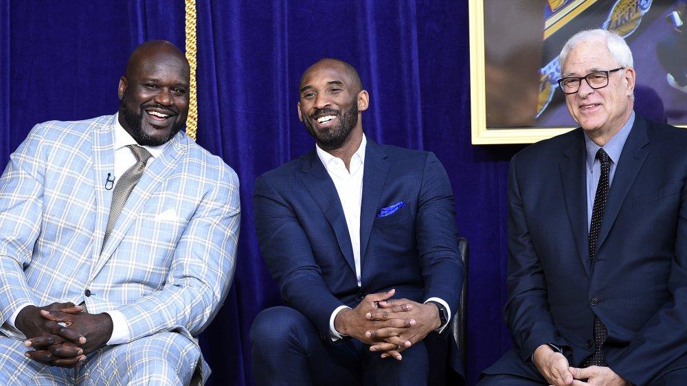Shaq, Kobe Bryant y Phil Jackson