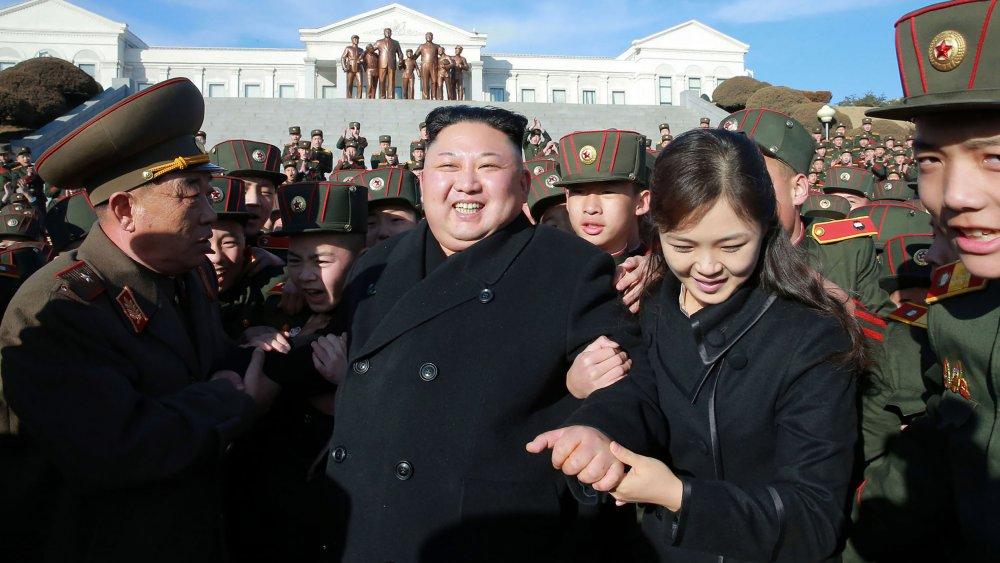 Kim jong un y esposa ri sol ju