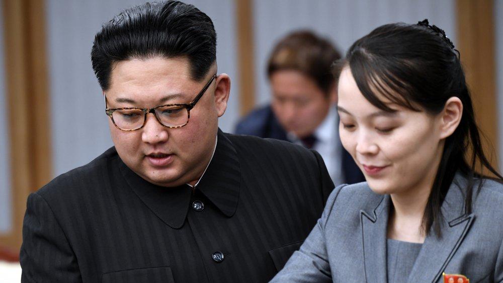 Kim Jong Un y Kim Yo-jong