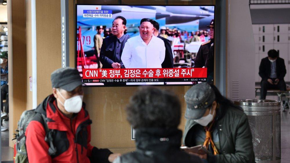 Reportaje de Kim Jong-un