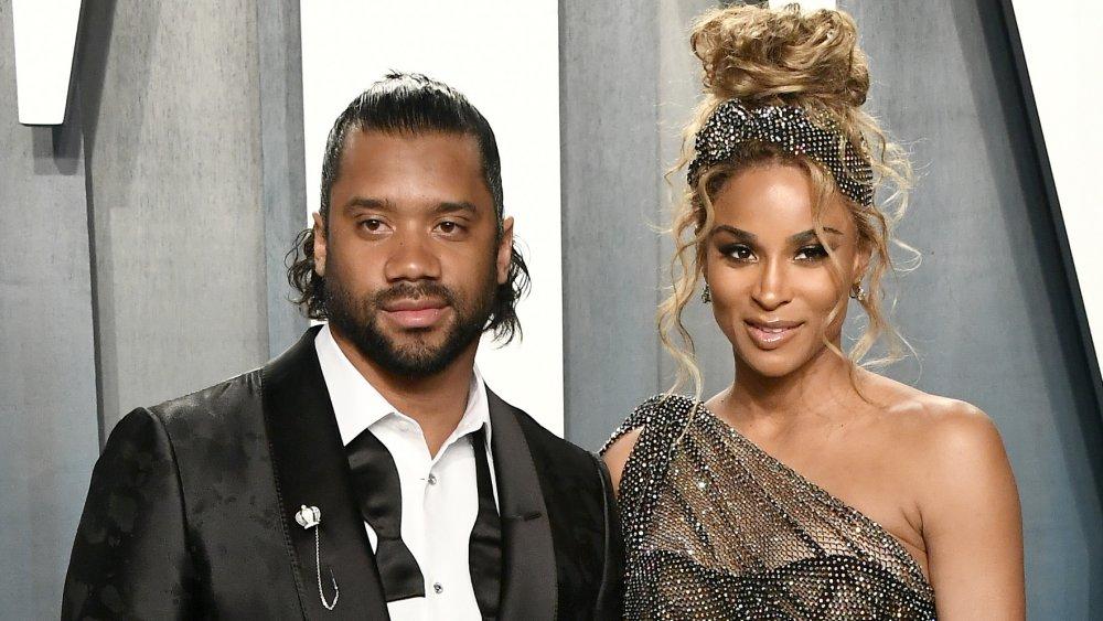 Russell Wilson y su esposa Ciara