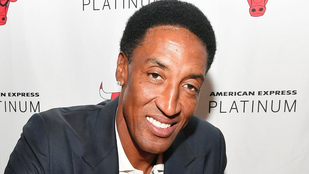 Scottie Pippen con su hijo Scotty Pippen