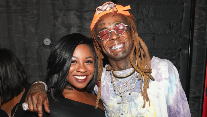 Reginae Carter y su papá Lil Wayne
