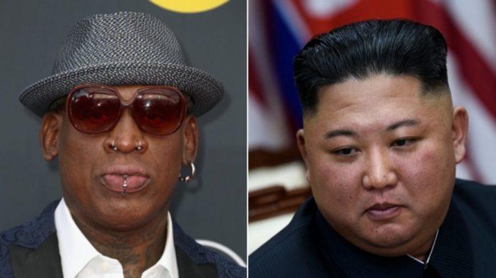 Dennis Rodman y Kim Jong Un
