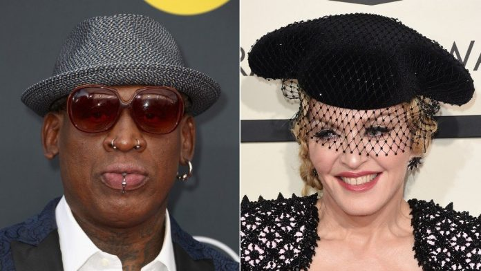Split de Dennis Rodman y Madonna