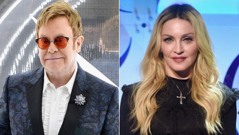 Elton John, Madonna