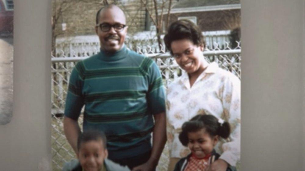 Michelle Obama y familia