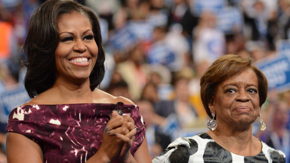 Michelle Obama y Marian Robinson