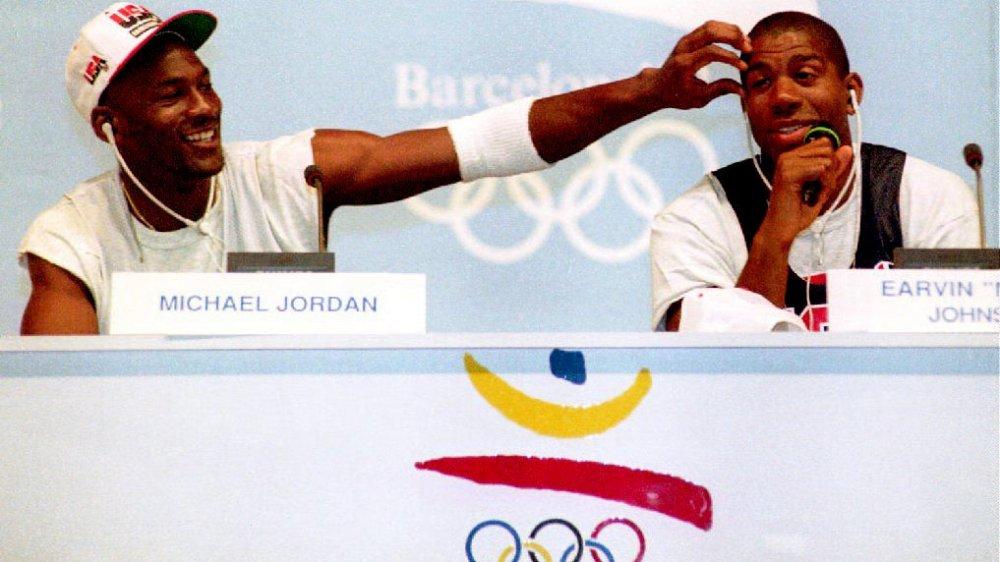 Juegos Olímpicos de Michael Jordan y Magic Johnson