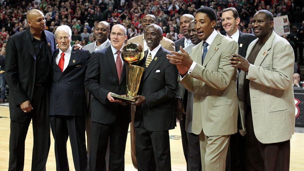Ex jugadores de los Chicago Bulls