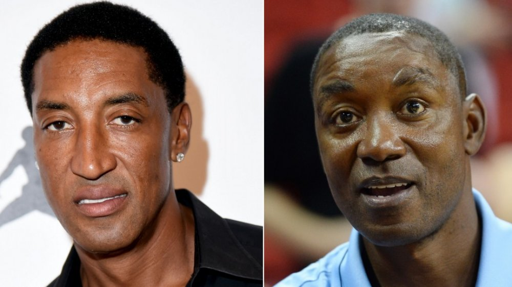 Scottie Pippen e Isiah Thomas