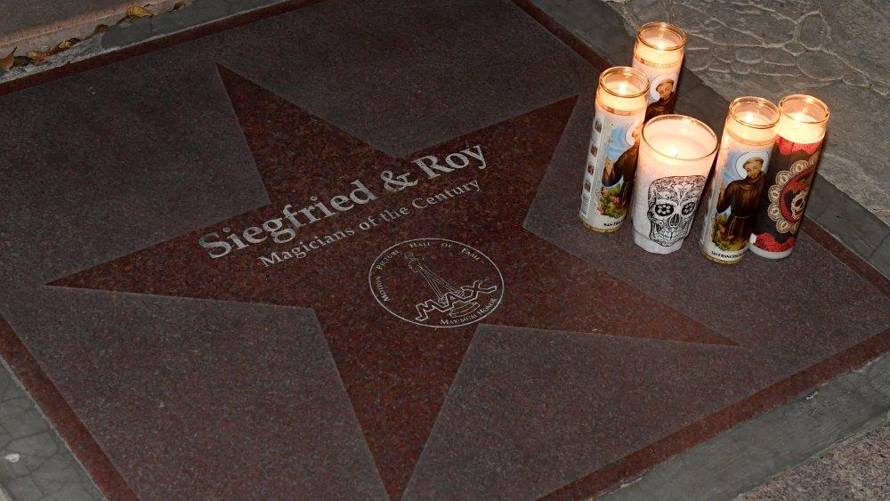 Hollywood Walk of Fame Star Vigil