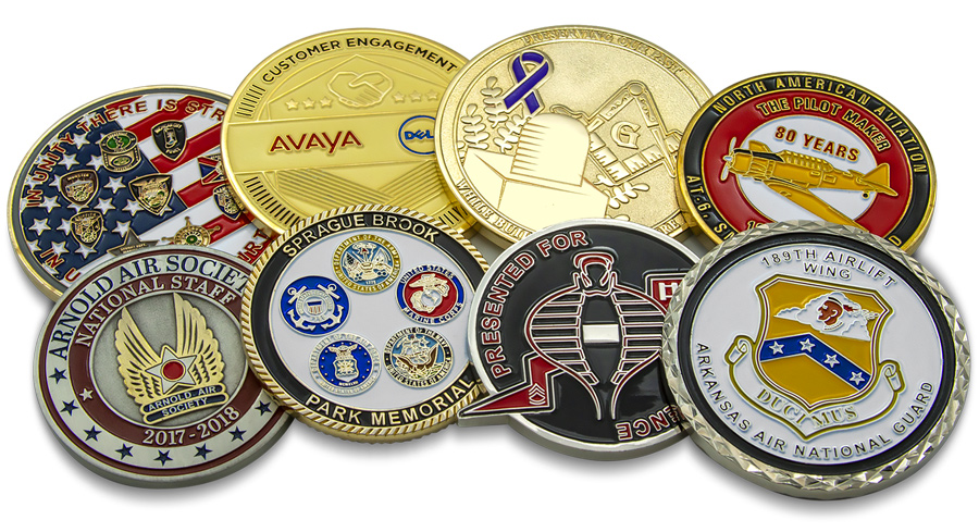 10 Tips For Designing Custom Challenge Coins - Verge Campus