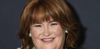 Susan Boyle atiende 'America's Got Talent' Temporada 14 Live Show Red Carpet