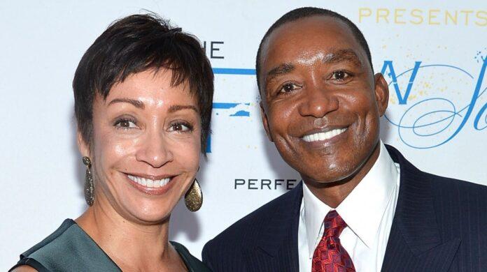 Lynn Kendall e Isiah Thomas